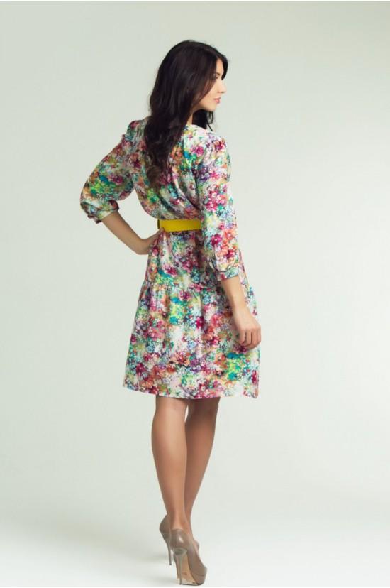 Платье женское с ремнем