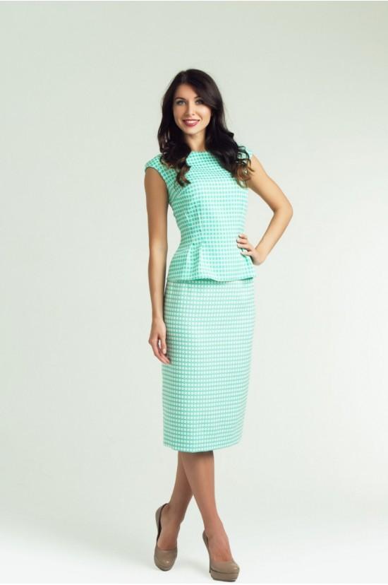 Блуза и юбка (костюм) женский