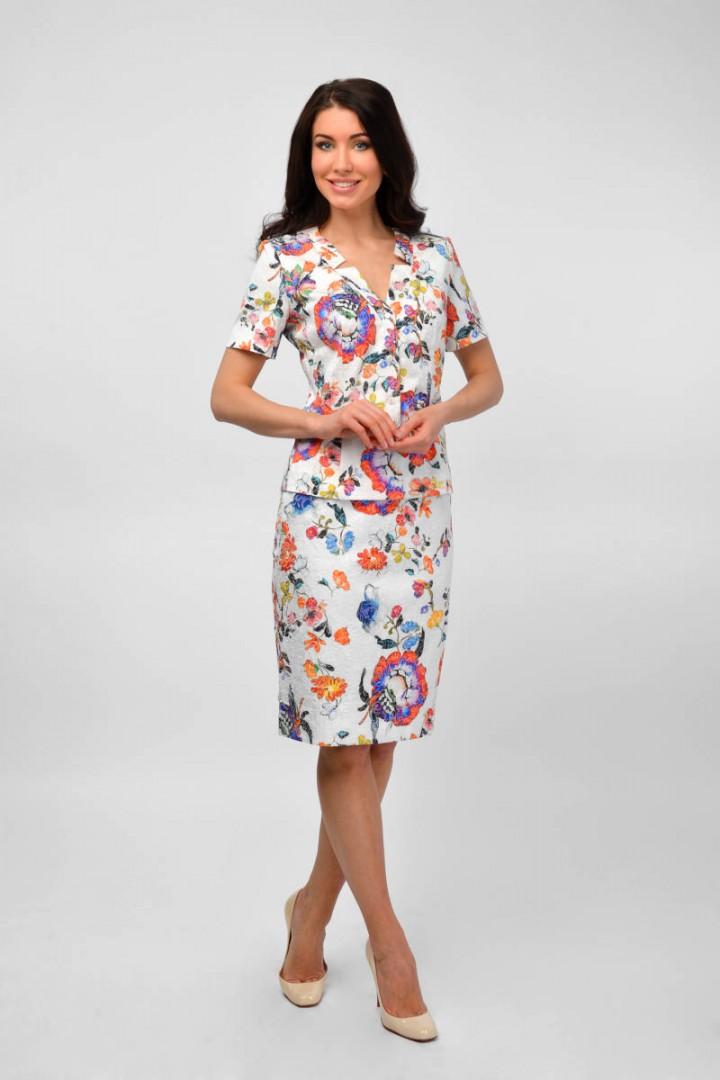 Костюм (жакет, юбка) женский
